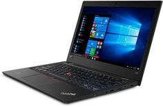 "Ноутбук LENOVO ThinkPad L380 Clam, 13"", Intel Core i5 8250U 1.6ГГц, 4Гб, 256Гб SSD, Intel UHD Graphics 620, noOS, 20M5001YRT, черный"