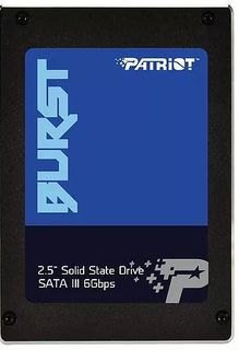"SSD накопитель PATRIOT Burst PBU240GS25SSDR 240Гб, 2.5"", SATA III Патриот"
