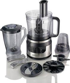 Кухонный комбайн GORENJE SBR800HC, черный/серебристый