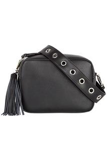 Черная сумка кросс-боди La Reine Blanche