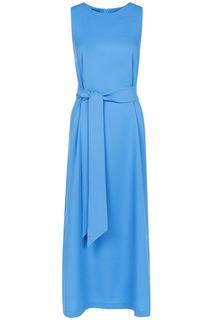 Длинное платье без рукавов La Reine Blanche
