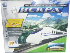 Железная дорога Noname Искра 588-1A на д/у на батарейках