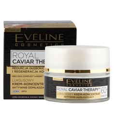 Крем-концентрат для лица `EVELINE` ROYAL CAVIAR THERAPY дневной 60+ SPF-8 (для интенсивной регенерации) 50 мл