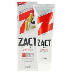 Паста зубная `CJ LION` `ZACT` PLUS Отбеливающая для курящих 150 г