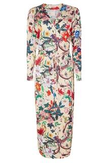 Платье с яркими цветами ЛИ ЛУ