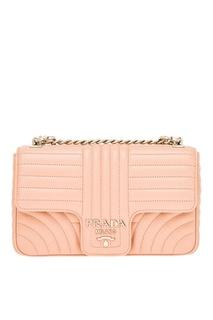 Бежевая сумка Diagramme Prada