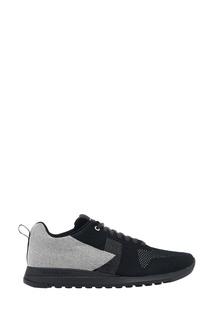Черные текстильные кроссовки Paul Smith