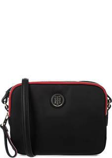 Маленькая текстильная сумка через плечо Tommy Hilfiger