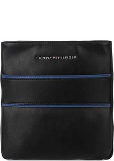 Черная сумка через плечо на молнии Tommy Hilfiger