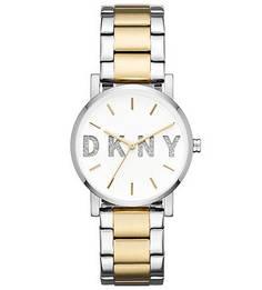 Кварцевые часы с циферблатом круглой формы Dkny