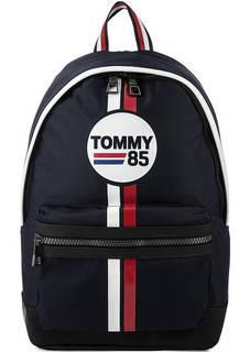 Текстильный рюкзак с принтом Tommy Hilfiger