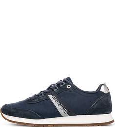 Синие текстильные кроссовки Napapijri