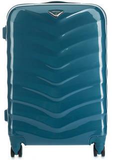 Пластиковый чемодан среднего размера на колесах Verage