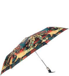 Складной автоматический зонт с разноцветным куполом Zest
