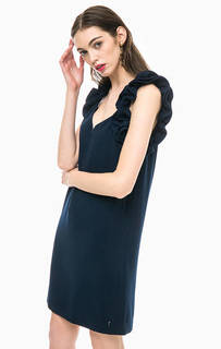 Короткое платье синего цвета Pepe Jeans