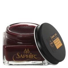 Крем для обуви SAPHIR CREME 1925 темно-красный