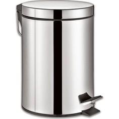 Ведро-контейнер для мусора (урна) с педалью Лайма Classic 30л зеркальное, нержавеющая сталь 232263