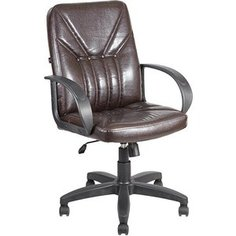 Кресло Алвест AV 201 PL (727)МК эко кожа 221 шоколад