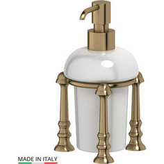 Емкость для жидкого мыла настольная 3SC Stilmar UN античная бронза (STI 529)