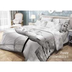 Комплект постельного белья Волшебная ночь Евро, ранфорс, Poppy с наволочками 70x70 (702138)