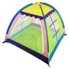 Палатка игровая Наша Игрушка 4-х гранная, 110*110*120 см, сумка на молнии