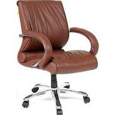 Офисное кресло Chairman 444 коричневый