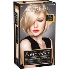 LOREAL Preference Краска для волос тон 9.1 Викинг Loreal