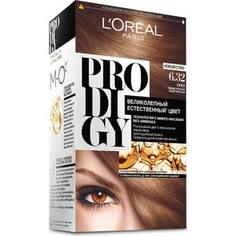 LOREAL Prodigy Краска для волос тон 6.32 орех Loreal