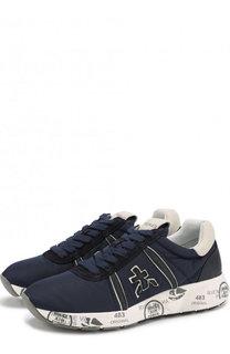 Текстильные кроссовки Mattew на шнуровке Premiata