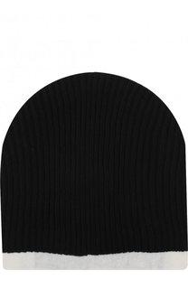Хлопковая шапка фактурной вязки Julius