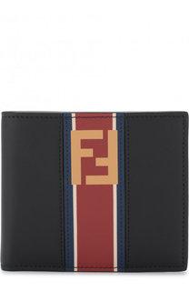 Кожаное портмоне с отделениями для кредитных карт Fendi
