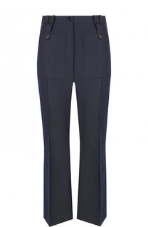 Укороченные расклешенные брюки со стрелками Golden Goose Deluxe Brand