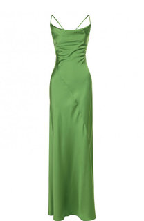 Приталенное платье-макси с открытой спиной Diane Von Furstenberg
