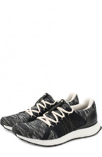 Текстильные кроссовки UltraBOOST Parley на шнуровке Adidas by Stella McCartney