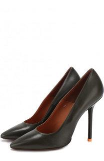 Кожаные туфли на шпильке Vetements