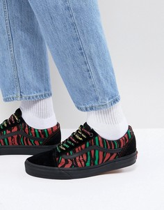 Черные кроссовки Vans Old Skool X A Tribe Called Quest VA38G1Q4B - Черный