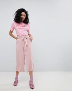Укороченные кюлоты New Look - Розовый