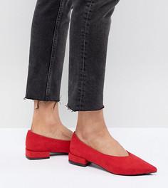 Красные туфли на плоской подошве Lost Ink - Красный