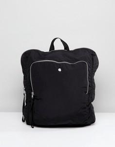 Черный рюкзак с молнией Cheap Monday - Черный