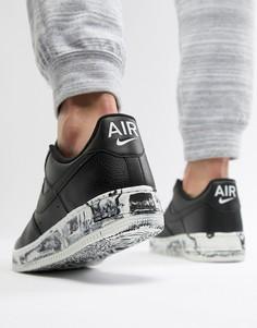 Черные кроссовки Nike Air Force 1 07 LV8 AJ9507-001 - Черный