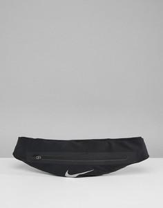 Черная сумка-кошелек на пояс Nike Running N.RL.99.082.OS - Черный