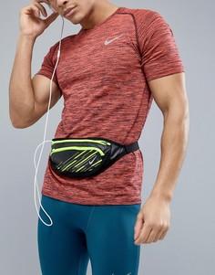 Черная сумка-кошелек на пояс Nike Running N.RL.91.093.OS - Черный