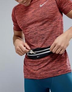 Черная сумка-кошелек на пояс Nike Running N.RL.A0.082.OS - Черный