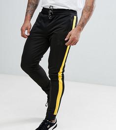 Черно-желтые джоггеры с полосками по бокам Good For Nothing эксклюзивно для ASOS - Черный