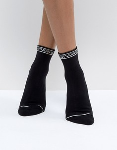 Черные носки с логотипом Vans - Черный