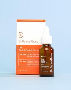 Тонизирующее масло с пептидами Dr Dennis Gross - Бесцветный