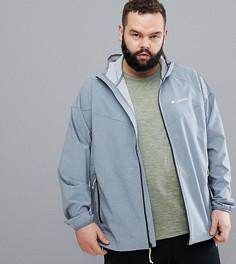 Серая водонепроницаемая куртка с капюшоном Columbia PLUS Heather Canyon - Серый