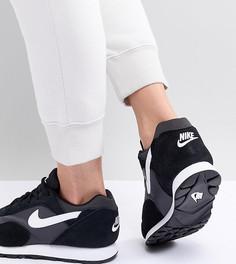 Черные кроссовки Nike Outburst - Черный