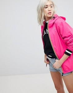 Водонепроницаемая куртка на молнии K-Way Claude 3.0 - Розовый