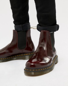Красные ботинки челси из веган-кожи Dr.Martens 2976 - Красный